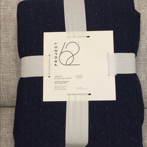 Jersey Plush Blanket-Twin Size
